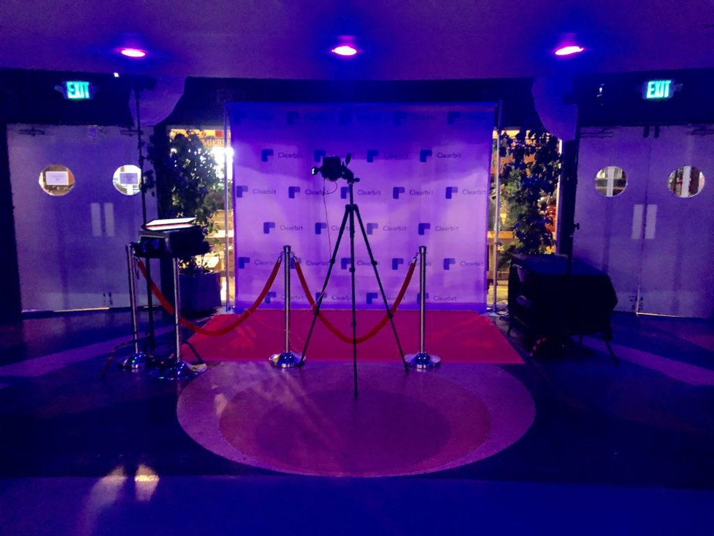 VIP Step and Repeat Backdrop