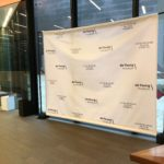 Case Study: Exhibit Opening – Step and Repeat Backdrop